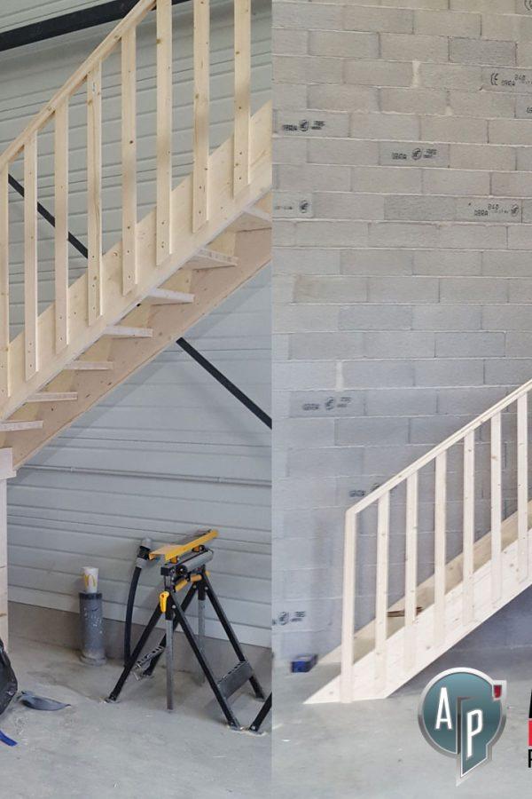 Menuisier escalier en bois